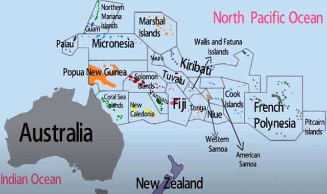 negara di benua australia-oceania