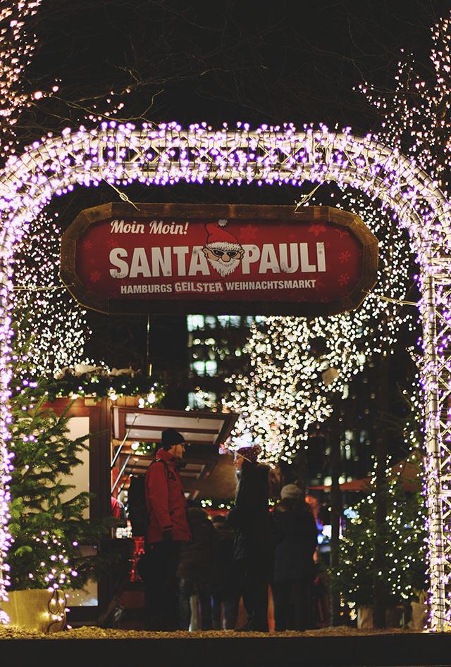 Hamburg Santa Pauli Christmas Market