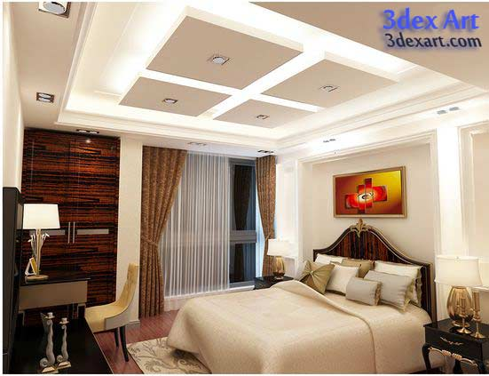 false ceiling designs 2018 modern false ceiling design for bedroom bedroom ceiling led lights - False Ceiling Design For Bedroom