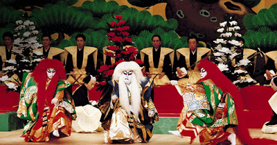 Ciri - Ciri Seni Teater Tradisional Jepang