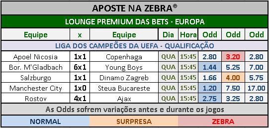LOTECA 715 - GRADE BETS EUROPA 02
