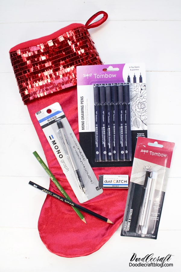 For someone that loves Sketching, Tombow has a wonderful range of high quality pencils and pens.