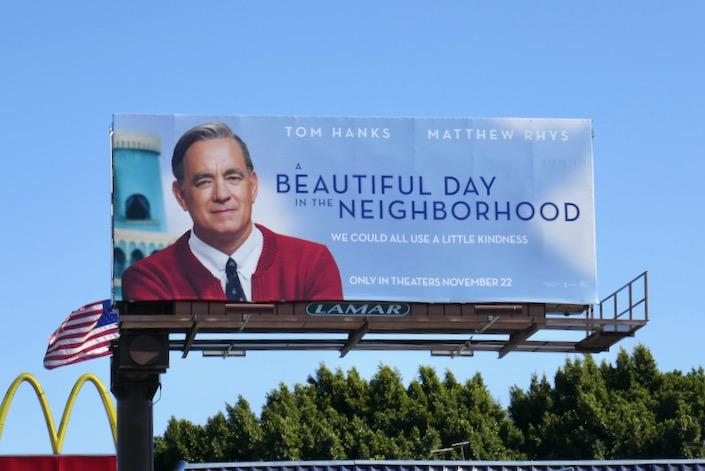 A Beautiful Day in Neighborhood movie billboard