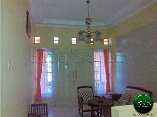 Rumah dalam area Benteng Kraton Jogja