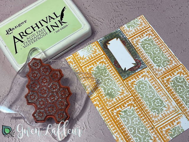 Project #2: Collage with DIY Stickers Tutorial Step 2 - Gwen Lafleur