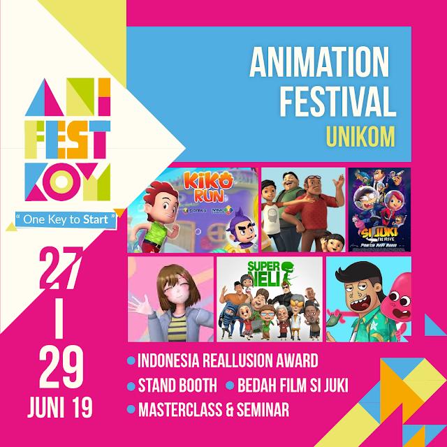 Festival Animasi Nasional Terbesar Tahun 2019 : AniFestKom