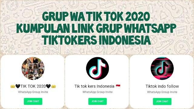 2021+ Link Grup WhatsApp Artis Tik Tok 2021 (Tiktok Followers & Tiktokers)