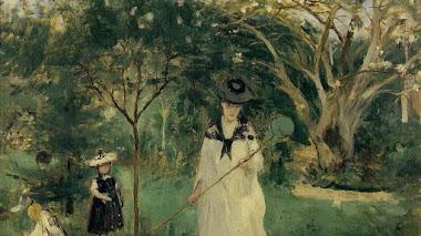 Berthe Morisot y la pintura al aire libre