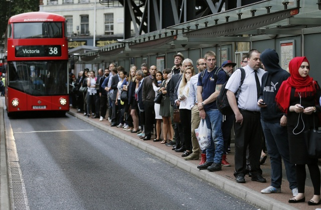 queuing in london
