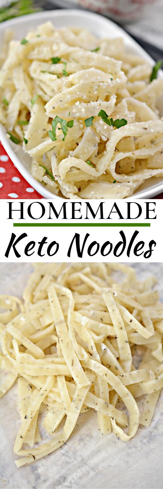 Homemade Keto Noodles #keto #glutenfree