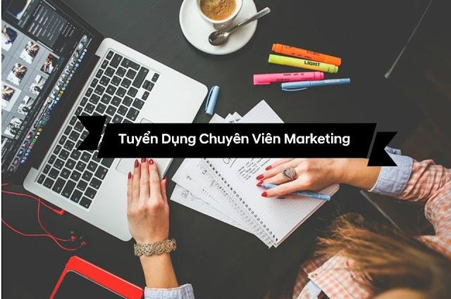 Tuyển dụng Chuyên viên tư vấn giải pháp Marketing ( Được đào tạo)