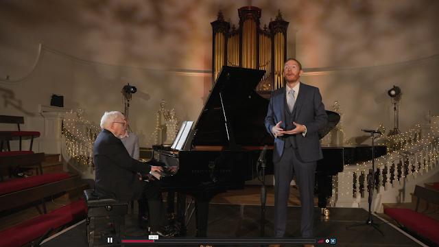 Graham Johnson & Robin Tritschler at the Oxford Lieder Festival 2020
