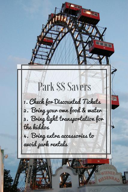 Amusement Park Money Savers List