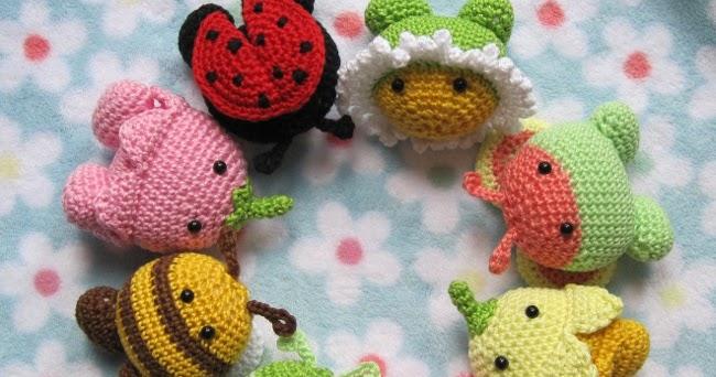 Garden Pals: easy Amigurumi crochet pattern - Sayjai ...