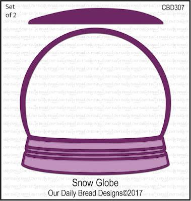 ODBD Custom Die: Snow Globe