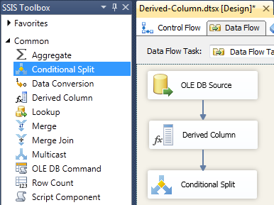 Add Conditional Split
