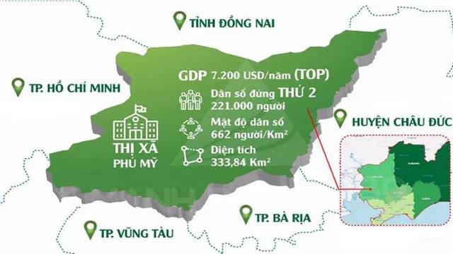 Những con số biết nói chứng minh sự phát triển của Thị Xã Phú Mỹ