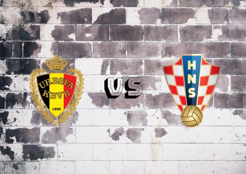Bélgica vs Croacia  Resumen y Partido Completo