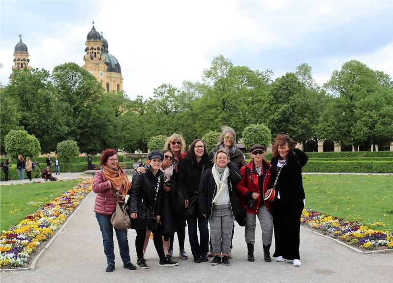 Gruppenfoto Bloggertreffen München 2019