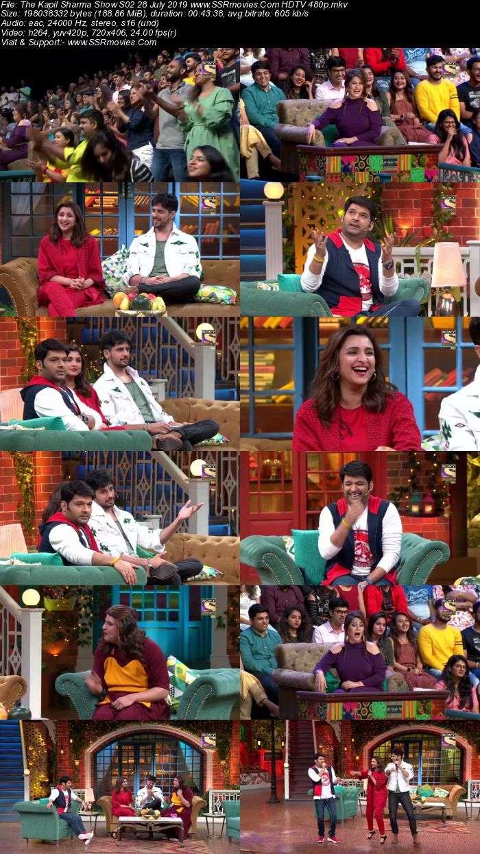 The Kapil Sharma Show S02 28 July 2019 Full Show Download HDTV HDRip 480p
