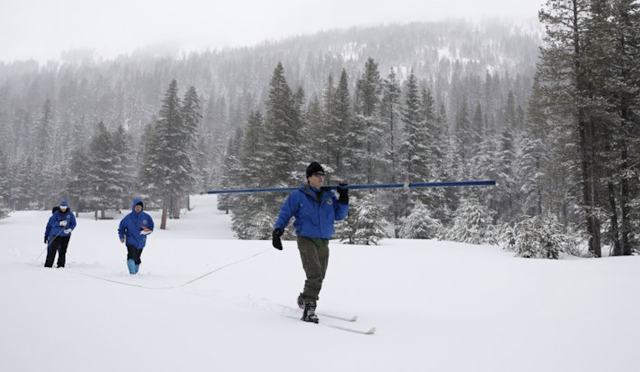 California snowpack 202% of average for this time of year
