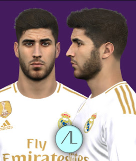 PES 2017 Faces Marco Asensio by Alief