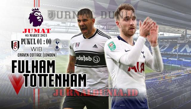 Prediksi Fulham Vs Tottenham Hotspur