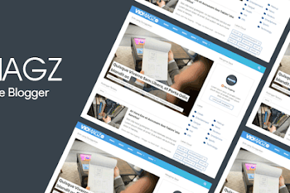 Download Template Blogger Viomagz V3.2 Original - Gratis