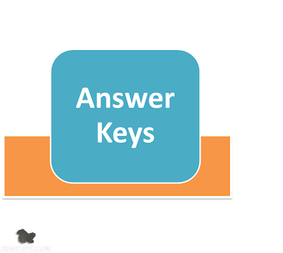 Answer key of generalTeacher  exam held on 27 may  2018