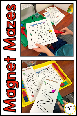 Magnet Mazes and Pathways