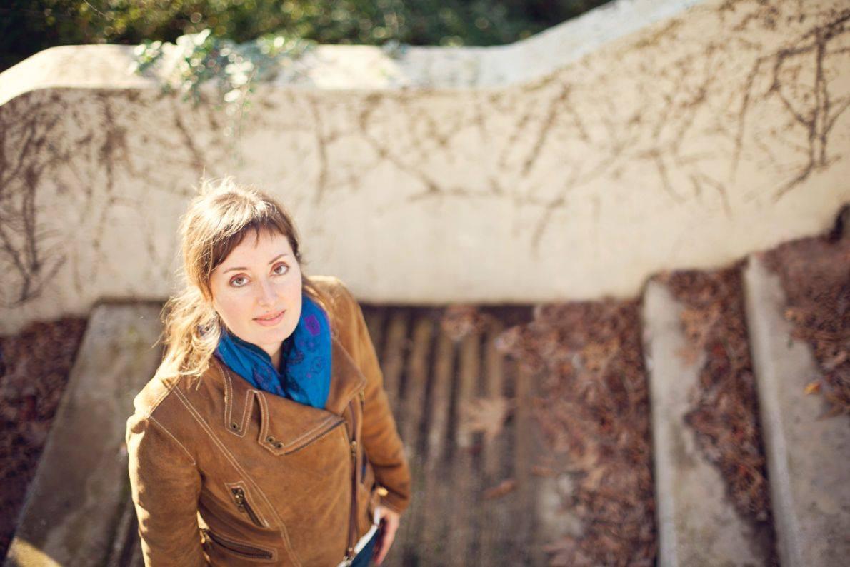 Η ποιήτρια Λένα Καλέργη στη Λάρισα