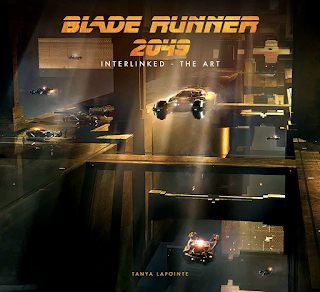 Bladerunner flying cars moving through cityscape