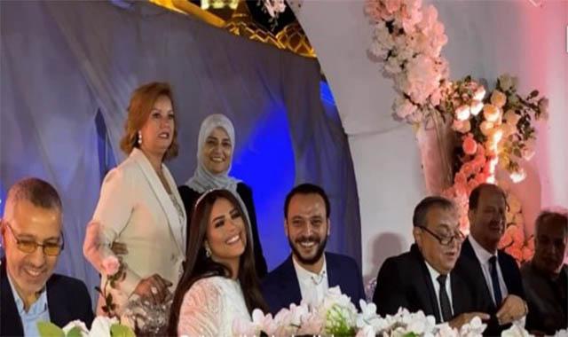 عقد قران أحمد خالد صالح وهنادي مهنى