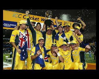 Australia vs India ICC Cricket World Cup Final 2003