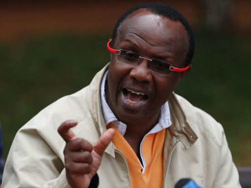 David Ndii to court photos