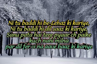 Hindi punjabi love shayari