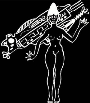 La diosa Oriana de Tiahuanaco