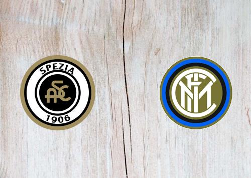 Spezia vs Internazionale -Highlights 21 April 2021
