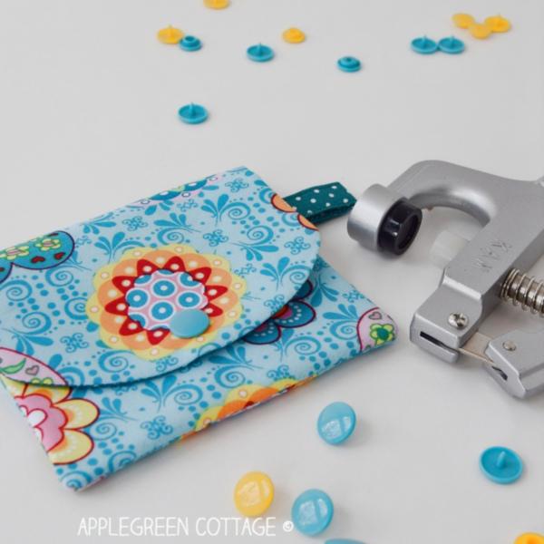 Sewing tutorial: Installing KAM snaps