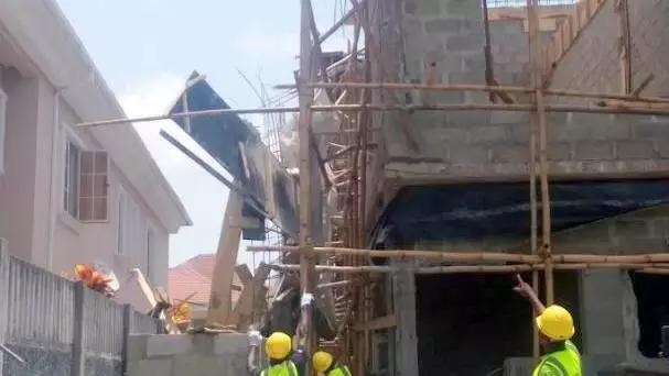 building collapse nicon town estate lekki lagos