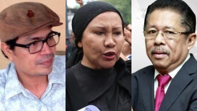 Faizal Assegaf Tuding Karni Ilyas dan Ratna Sarumpaet Saling Kedip Mata Salurkan Misi Politik di ILC