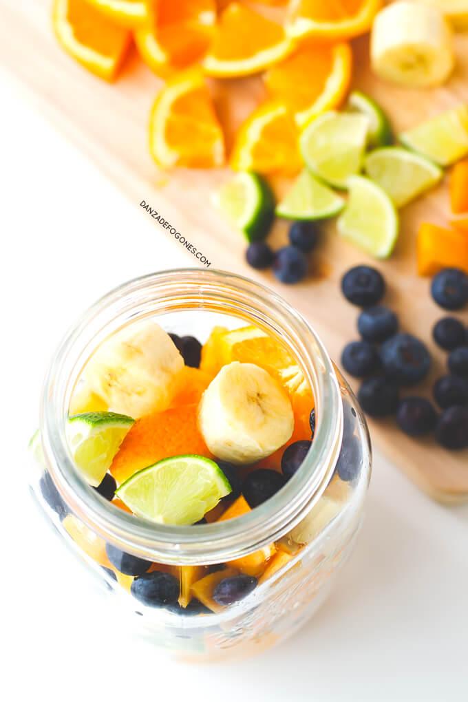 Fruits to make healthy sangria | danceofstoves.com