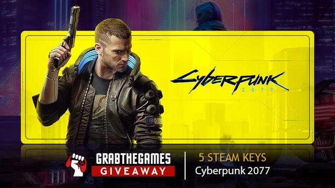 Sorteio de 5x Keys do Game Cyberpunk 2077