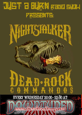 Nightstalker's ''Dead Rock Commandos'' Presentation On Downtuned Radio