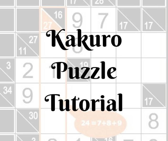 Online Kakuro Puzzle Tutorial by Conceptis Puzzles