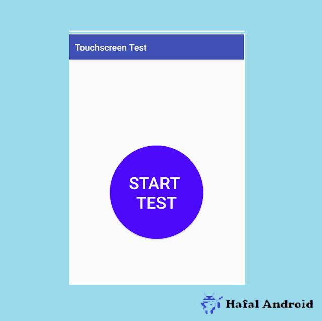 Tes Touchscreen Xiaomi Rusak Memakai Aplikasi