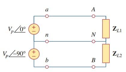 Circuits three phase Three