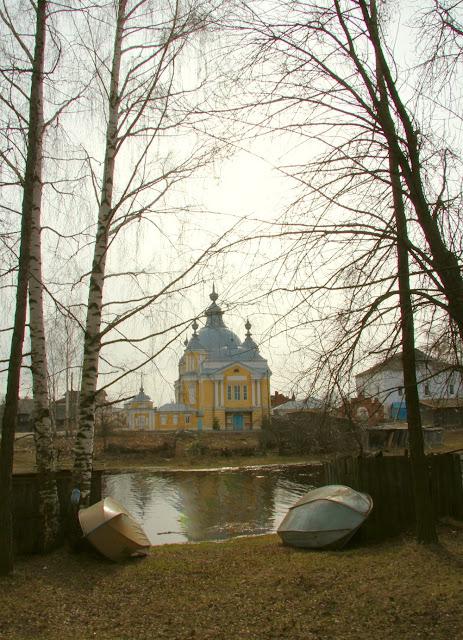 Речка Петровка в Устье