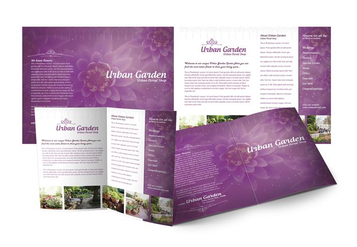 Purple Garden Brochure
