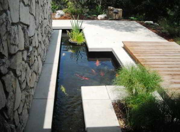Desain Kolam Ikan Rumah Minimalis